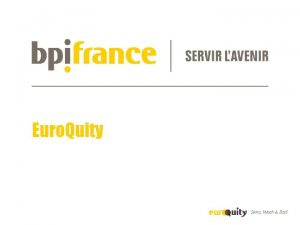 Euro Quity 0 1 About Euro Quity 0
