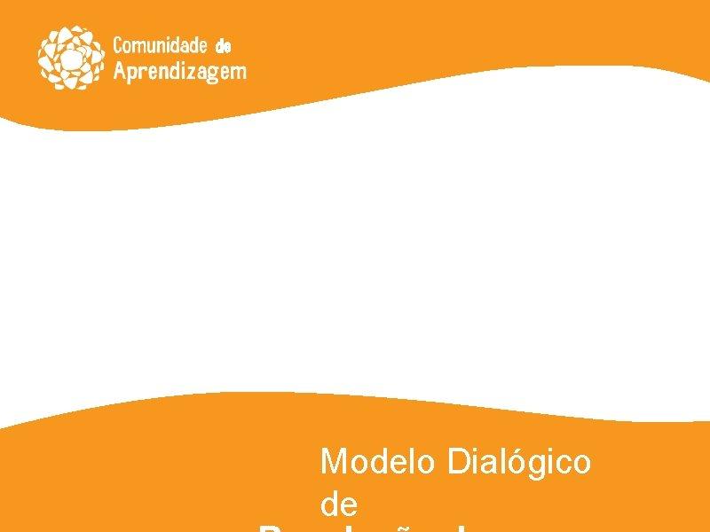 Modelo Dialgico de Origem dos conflitos Os conflitos