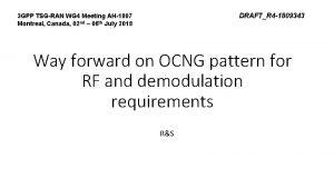 DRAFTR 4 1809343 3 GPP TSGRAN WG 4