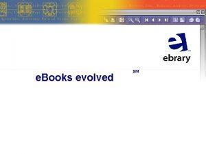 e Books evolved SM Top Science Technology Medicine
