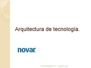 Arquitectura de tecnologa www themegallery com Company Logo