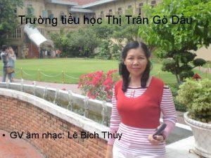 Trng tiu hc Th Trn G Du GV