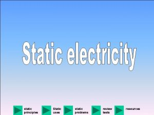 static principles Static uses static problems review tests