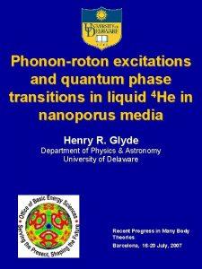 Phononroton excitations and quantum phase transitions in liquid