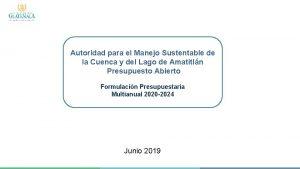 Autoridad para el Manejo Sustentable de la Cuenca