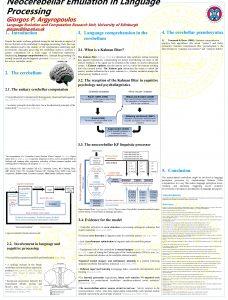 Neocerebellar Emulation in Language Processing Giorgos P Argyropoulos