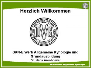 Deutscher Verband der Gebrauchshundsportvereine e V Herzlich Willkommen
