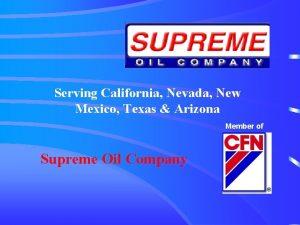 Serving California Nevada New Mexico Texas Arizona Member