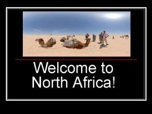 Welcome to North Africa Sahara Atlas Mountains Salt