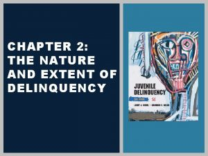 CHAPTER 2 THE NATURE AND EXTENT OF DELINQUENCY