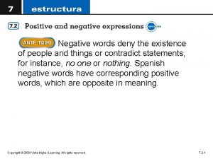 Negative words deny the existence of people and