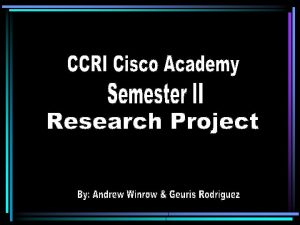 Cisco 1601 R Series Router Overview It is