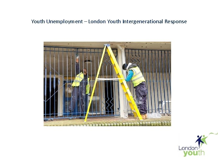 Youth Unemployment London Youth Intergenerational Response Youth Unemployment