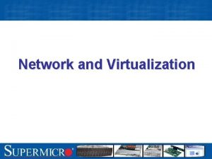 Network and Virtualization Dual Port Gigabit Ethernet Intel