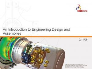 An Introduction to Engineering Design and Assemblies 21108
