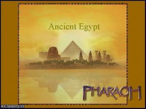 Ancient Egypt A Map of Ancient Egypt Background