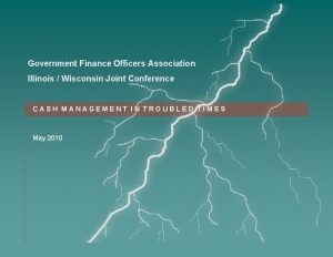Government Finance Officers Association Illinois Wisconsin Joint Conference