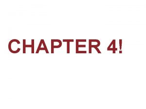 CHAPTER 4 Mineral Characteristics A mineral is a