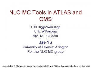 NLO MC Tools in ATLAS and CMS LHC