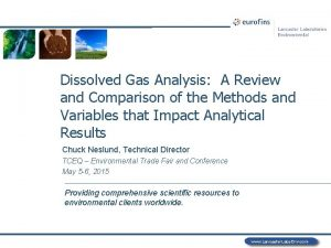 Dissolved Gas Analysis A Review and Comparison of