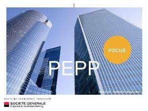 FOCUS PEPP Version 02 Updated in January 2019