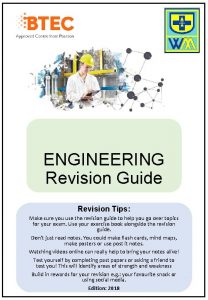ENGINEERING Revision Guide Revision Tips Make sure you