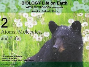 BIOLOGY Life on Earth WITH PHYSIOLOGY Tenth Edition