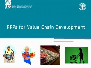 PPPs for Value Chain Development Indonesia Case Case