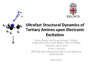 Ultrafast Structural Dynamics of Tertiary Amines upon Electronic
