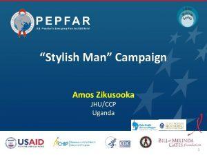 Stylish Man Campaign Amos Zikusooka JHUCCP Uganda 1