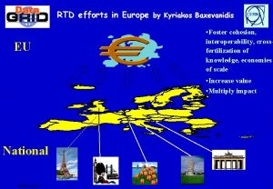 RTD efforts in Europe by Kyriakos Baxevanidis EU
