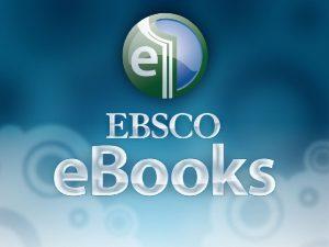 EBSCO e Books Agenda v Basic searching ve