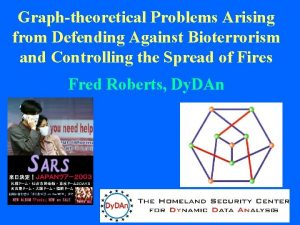 Graphtheoretical Problems Arising from Defending Against Bioterrorism and