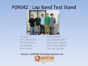 P 09042 Lap Band Test Stand Ilya Rivkin