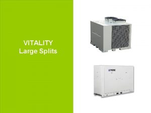 VITALITY Large Splits 1 Johnson Controls Power Point