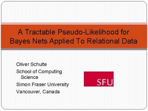 A Tractable PseudoLikelihood for Bayes Nets Applied To