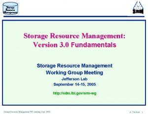 Storage Resource Management Version 3 0 Fundamentals Storage