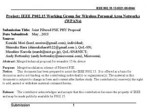 IEEE 802 15 13 0321 00 004 n