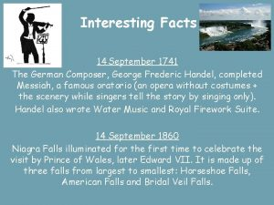 Interesting Facts 14 September 1741 The German Composer