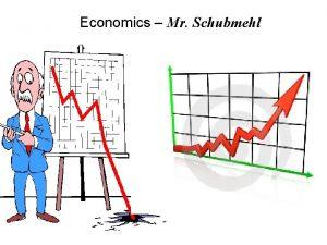 Economics Mr Schubmehl Scarcity the fundamental economic problem