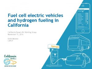 Fuel cell electric vehicles and hydrogen fueling in