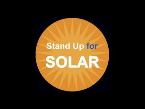 Ontario in 2010 Solar Leader Developed worlds largest