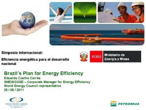 SMES Simposio Internacional Eficiencia energtica para el desarrollo