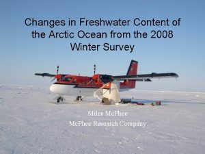 Changes in Freshwater Content of the Arctic Ocean