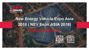 New Energy Vehicle Expo Asia 2018 NEV Expo