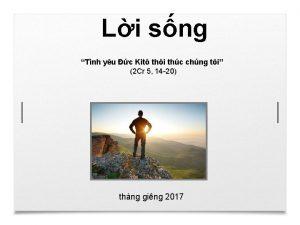 Li sng Tnh yu c Kit thi thc