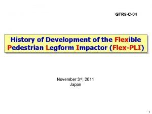 GTR 9 C04 History of Development of the