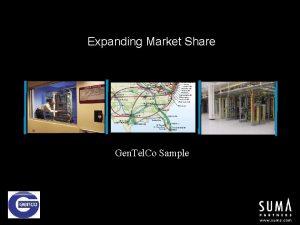 Expanding Market Share Gen Tel Co Sample Gen