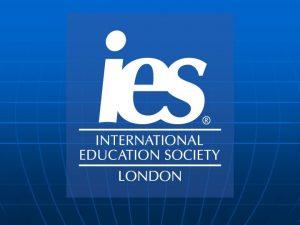 INTERNATIONAL EDUCATION SOCIETY ako jedin eurpska spolonos sa