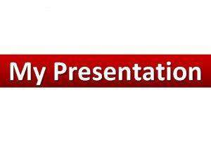 My Presentation Who I Am Veterinary Medicine Morphometric